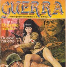 Cómics: COMIC ED.ZINCO - GUERRA - Nº 4 ADULTOS EN BLANCO Y NEGRO CON 66 PAGS.1982 DE 100 PTS.. Lote 74284979