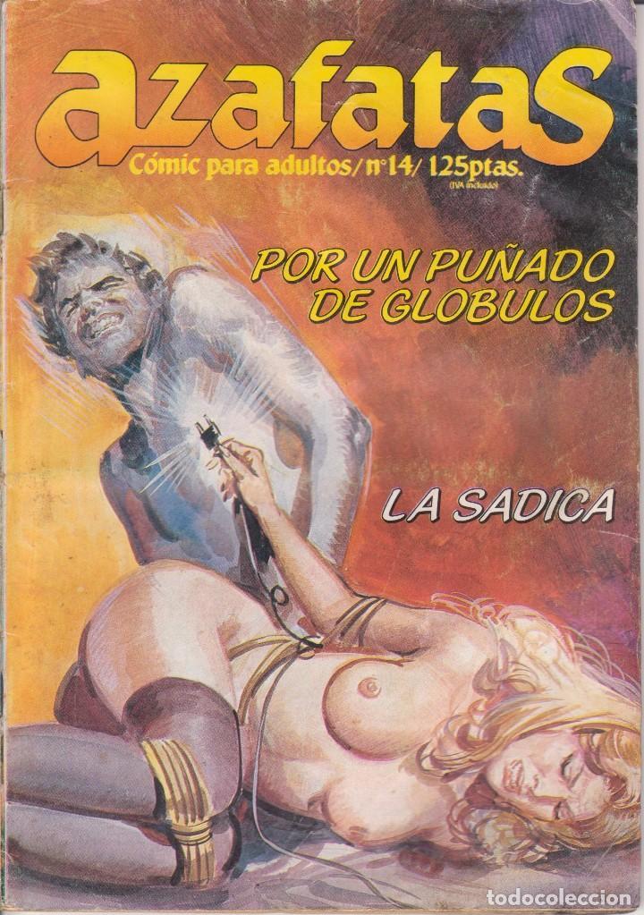 COMIC ADULTOS - AZAFATAS - Nº 14 ED. ZINCO 1984 (Tebeos y Comics - Zinco - Otros)