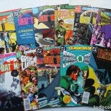Clasicos DC lote primeros 12 nºs (1, 2, 3, 4, 5, 6, 7, 8, 9, 10, 11, 12) (Batman Green Lantern ...