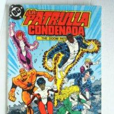Cómics: LA PATRULLA CONDENADA Nº 8 (DC) ZINCO. Lote 74378051