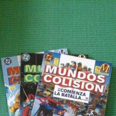 Cómics: MUNDOS EN COLISIÓN - 3 TOMOS -CROSSOVER DC / MILESTONE - SUPERMAN SUPERBOY ACERO HARDWARE ICON .... Lote 74385463