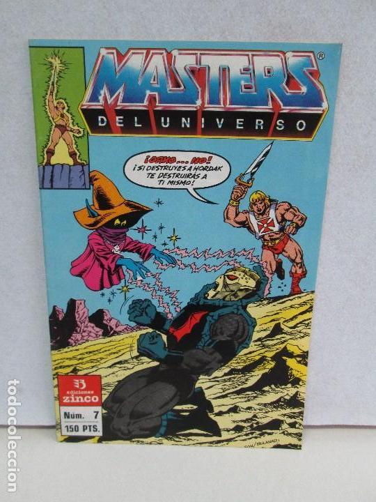 MASTERS DEL UNIVERSO. EDICIONES ZINCO. COMICS. VER FOTGRAGIAS ADJUNTAS (Tebeos y Comics - Zinco - Otros)