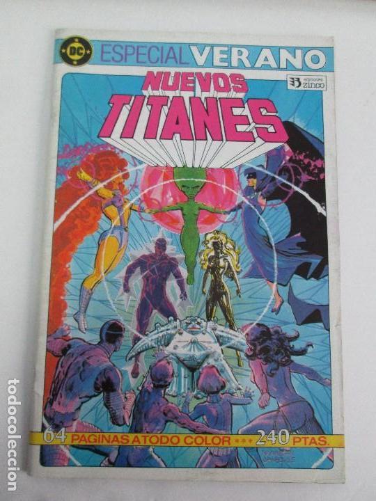 Cómics: NUEVOS TITANES. EDICIONES ZINCO. DOS COMICS. EDICIONES ZINCO. VER FOTOGRAFIAS ADJUNTAS - Foto 2 - 74493099