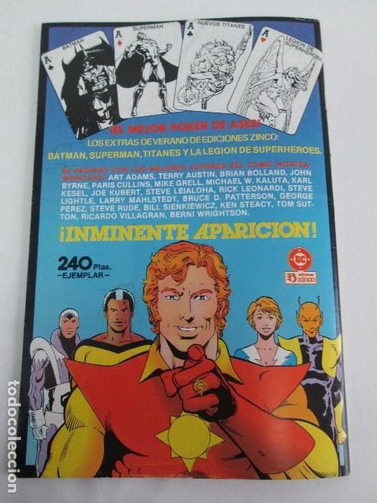 Cómics: NUEVOS TITANES. EDICIONES ZINCO. DOS COMICS. EDICIONES ZINCO. VER FOTOGRAFIAS ADJUNTAS - Foto 10 - 74493099