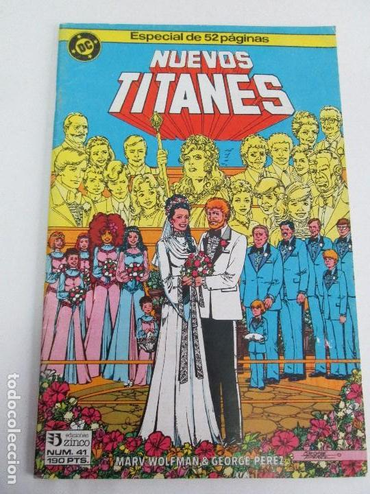 Cómics: NUEVOS TITANES. EDICIONES ZINCO. DOS COMICS. EDICIONES ZINCO. VER FOTOGRAFIAS ADJUNTAS - Foto 11 - 74493099