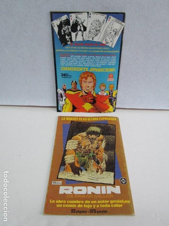 Cómics: NUEVOS TITANES. EDICIONES ZINCO. DOS COMICS. EDICIONES ZINCO. VER FOTOGRAFIAS ADJUNTAS - Foto 18 - 74493099