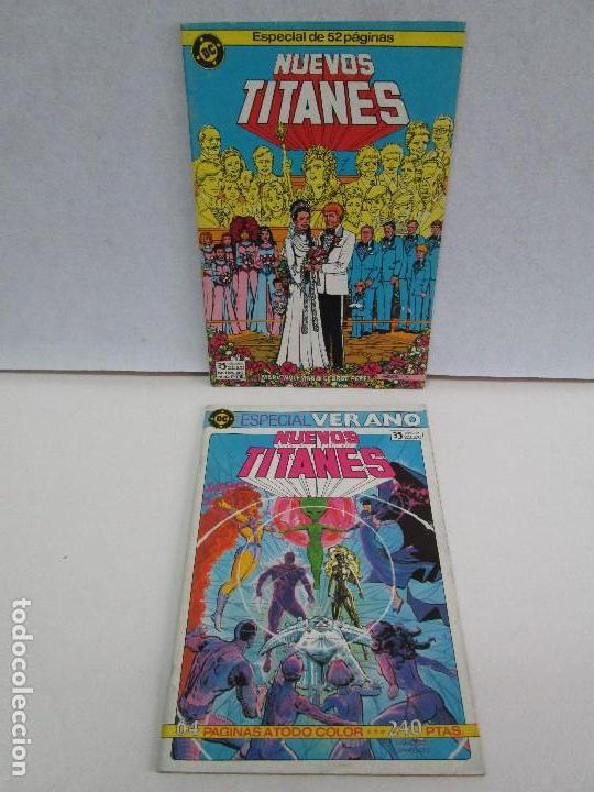 NUEVOS TITANES. EDICIONES ZINCO. DOS COMICS. EDICIONES ZINCO. VER FOTOGRAFIAS ADJUNTAS (Tebeos y Comics - Zinco - Nuevos Titanes)
