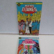 Cómics: NUEVOS TITANES. EDICIONES ZINCO. DOS COMICS. EDICIONES ZINCO. VER FOTOGRAFIAS ADJUNTAS. Lote 74493099