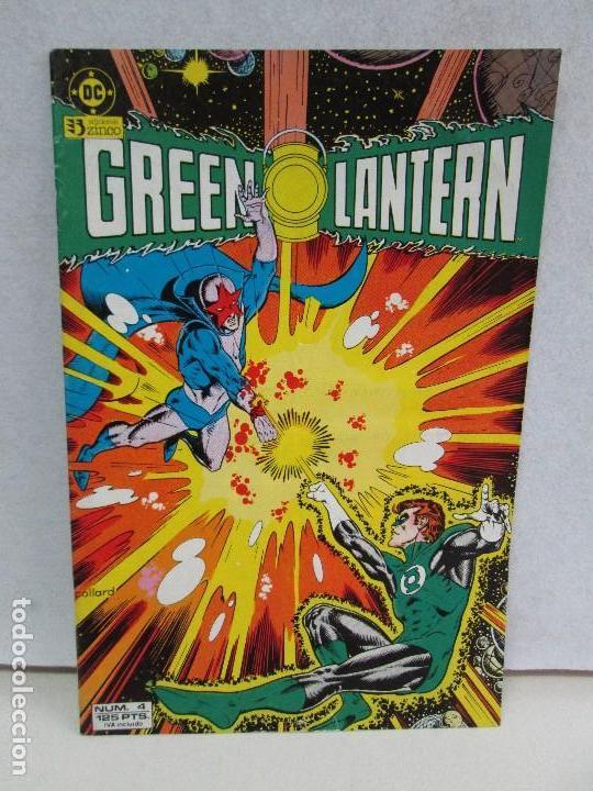 GREEN LANTERN. EDICIONES ZINCO. COMICS. VER FOTOGRAFIAS ADJUNTAS. (Tebeos y Comics - Zinco - Otros)