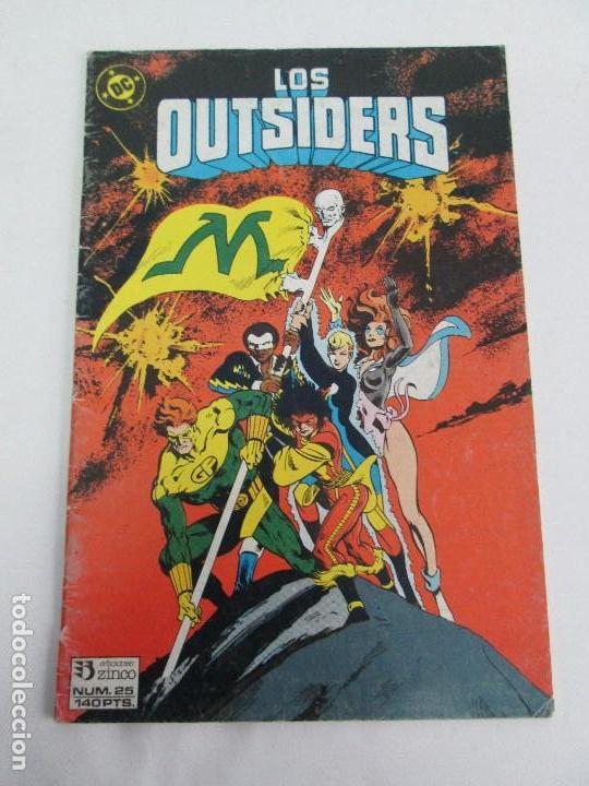 Cómics: LOS OUTSIDERS. EDICIONES ZINCO. COMICS. VER FOTOGRAFIAS ADJUNTAS - Foto 2 - 74495855