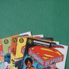 Cómics: SUPERMAN NºS 1 AL 5 - CONTIENE LA MINISERIE MAN OF STEEL EN SU 1ª EDICIÓN ESPAÑOLA - JOHN BYRNE. Lote 74510739