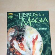 Cómics: LOS LIBROS DE LA MAGIA 2 CONVOCACIONES NORMA. Lote 75757967
