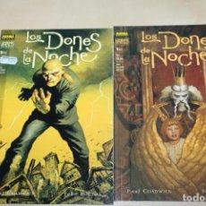 Cómics: LOS DONES DE LA NOCHE COMPLETA 1 Y 2 NORMA VERTIGO. Lote 75758095