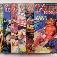 Comics: LOTE TELEFILM PROHIBIDO NÚMEROS: 2, 3, 4, 22, 23, 29 Y 68. EDICIONES ZINCO.. Lote 74649115