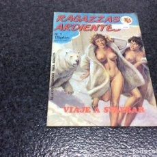 Cómics: RAGAZZAS ARDIENTES Nº 1 RELATOS GRAFICOS PARA ADULTOS. Lote 278974493