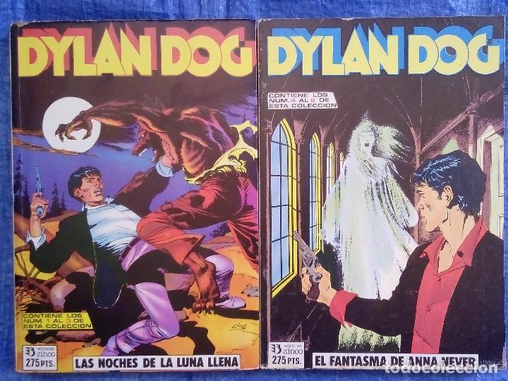 DYLAN DOG - NUMERO 1 AL 6 RETAPADO 2 TOMOS COLECCION COMPLETA (Tebeos y Comics - Zinco - Retapados)