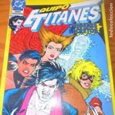 Cómics: EQUIPO TITANES, ORIGENES SECRETOS . OBRA COMPLETA TOMO - ZINCO DC COMICS -. Lote 76600199