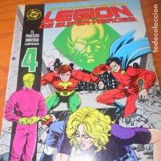 Cómics: LEGION DE SUPER-HEROES Nº 4 - ZINCO DC COMICS --. Lote 76604063