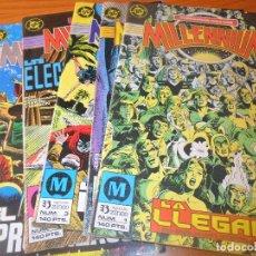 Cómics: MILLENIUM Nº 1 AL 6 - ZINCO DC COMICS --. Lote 76604699
