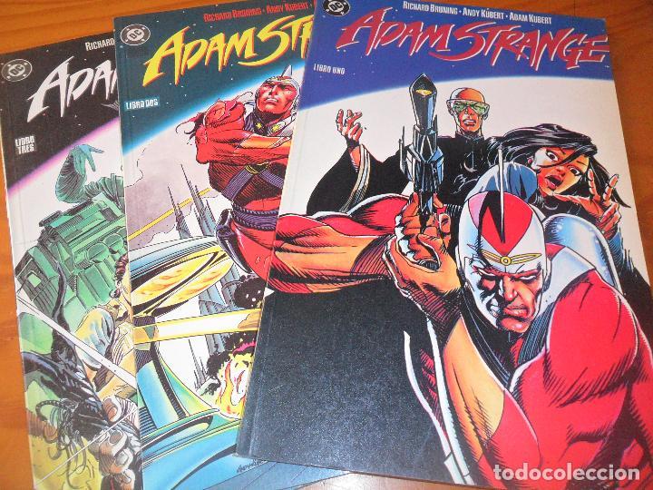 ADAM STRANGE - BRUNING/ KUBERT - OBRA COMPLETA - ZINCO DC COMICS -- (Tebeos y Comics - Zinco - Prestiges y Tomos)