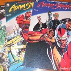Cómics: ADAM STRANGE - BRUNING/ KUBERT - OBRA COMPLETA - ZINCO DC COMICS --. Lote 76612427