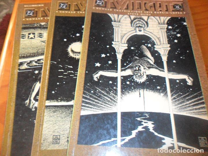 TWILIGHT - CHAYKIN/ JOSE LUIS GARCIA-LOPEZ - OBRA COMPLETA - ZINCO DC COMICS -- (Tebeos y Comics - Zinco - Prestiges y Tomos)