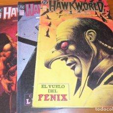 Cómics: HAWKWORLD - TRUMAN/ ALCATENA - OBRA COMPLETA - ZINCO DC COMICS --. Lote 76612779