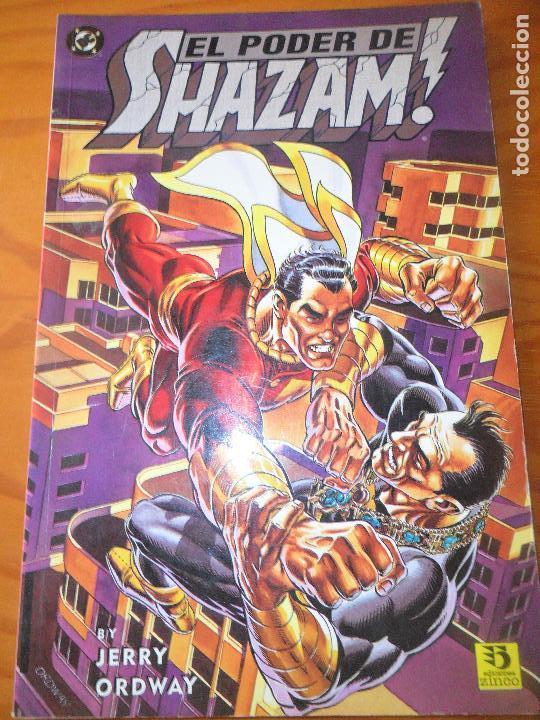 EL PODER DE SHAZAM! - JERRY ORDWAY - OBRA COMPLETA - ZINCO DC COMICS -- (Tebeos y Comics - Zinco - Prestiges y Tomos)