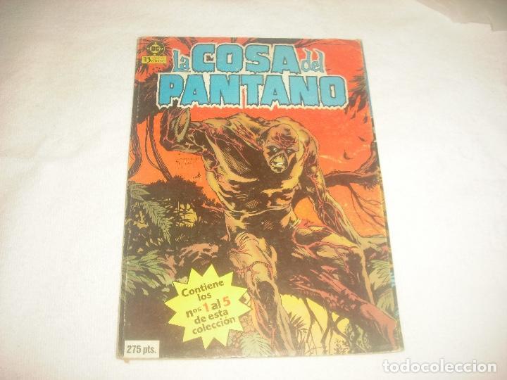 LA COSA DEL PANTANO : RETAPADO . N° DEL 1 AL 5 . DC, EDICIONES 5 (Tebeos y Comics - Zinco - Retapados)