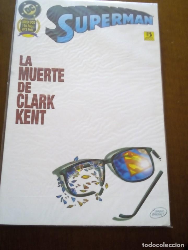 SUPERMAN PRESTIGIO LA MUERTE DE CLARK KENT (Tebeos y Comics - Zinco - Prestiges y Tomos)