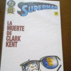 Cómics: SUPERMAN PRESTIGIO LA MUERTE DE CLARK KENT. Lote 77057141