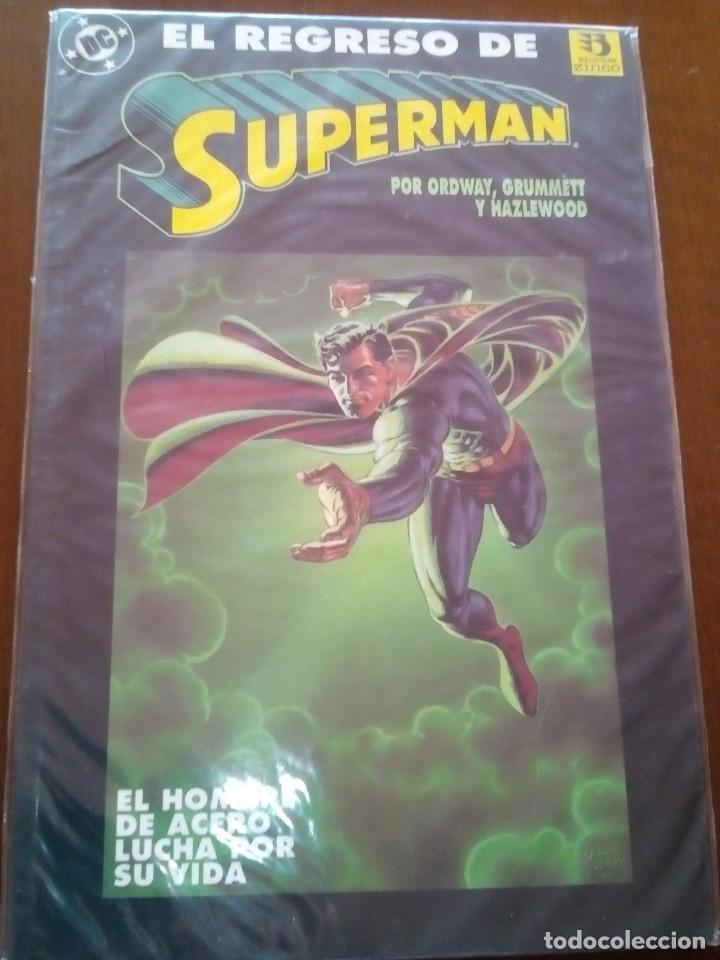 SUPERMAN PRESTIGIO EL REGRESO DE SUPERMAN (Tebeos y Comics - Zinco - Prestiges y Tomos)