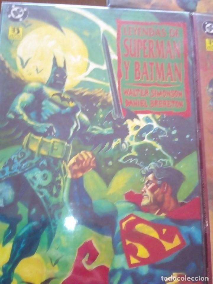 Cómics: SUPERMAN Y BATMAN 3 PRESTIGIOS - Foto 2 - 77087317