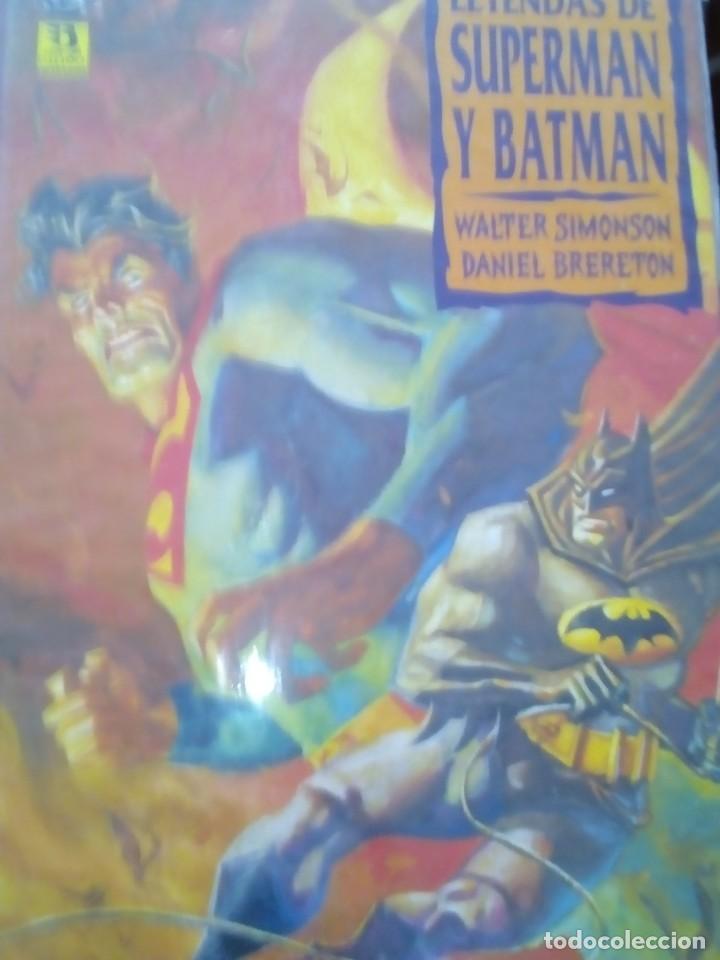 Cómics: SUPERMAN Y BATMAN 3 PRESTIGIOS - Foto 3 - 77087317
