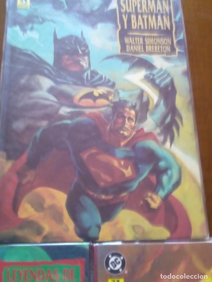 Cómics: SUPERMAN Y BATMAN 3 PRESTIGIOS - Foto 4 - 77087317