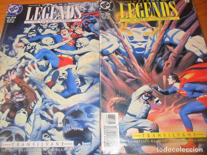 SUPERMAN LEGENDS OF THE DC UNIVERSE, TRANSILVANE COMPLETA - LADRONN - COMICS USA DC COMICS (Tebeos y Comics - Zinco - Superman)