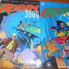 Cómics: ROBIN 3000 -OBRA COMPLETA, LIBRO UNO Y DOS- PREISS/ CRAIG RUSSELL - OTROS MUNDOS DC COMICS, ZINCO . Lote 77237345