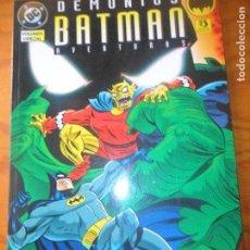 Cómics: LAS AVENTURAS DE BATMAN, VOLUMEN ESPECIAL DEMONIOS - DC COMICS, ZINCO - ANIMATED SERIES -. Lote 77238937