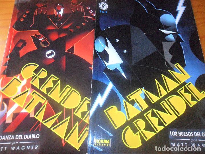 BATMAN Y GRENDEL -LOS HUESOS DEL DIABLO & LA DANZA - COMPLETA EN 2 TOMOS - MATT WAGNER - NORMA EDITO (Tebeos y Comics - Zinco - Batman)