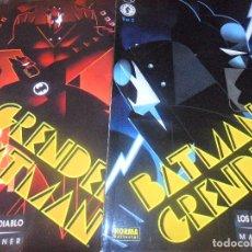 Comics: BATMAN Y GRENDEL -LOS HUESOS DEL DIABLO & LA DANZA - COMPLETA EN 2 TOMOS - MATT WAGNER - NORMA EDITO. Lote 77240197