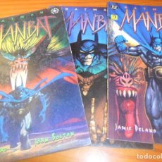 Cómics: BATMAN, MANBAT - 3 TOMOS OTROS MUNDOS - DELANO/ JOHN BOLTON - ZINCO. Lote 77245269