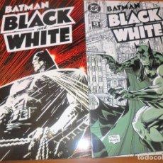Cómics: BATMAN, BLACK AND WHITE - 2 TOMOS - VARIOS ARTISTAS - ZINCO. Lote 77245465