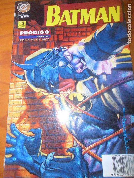 BATMAN. PRODIGO - LIBRO DOS 2 - ZINCO (Tebeos y Comics - Zinco - Batman)