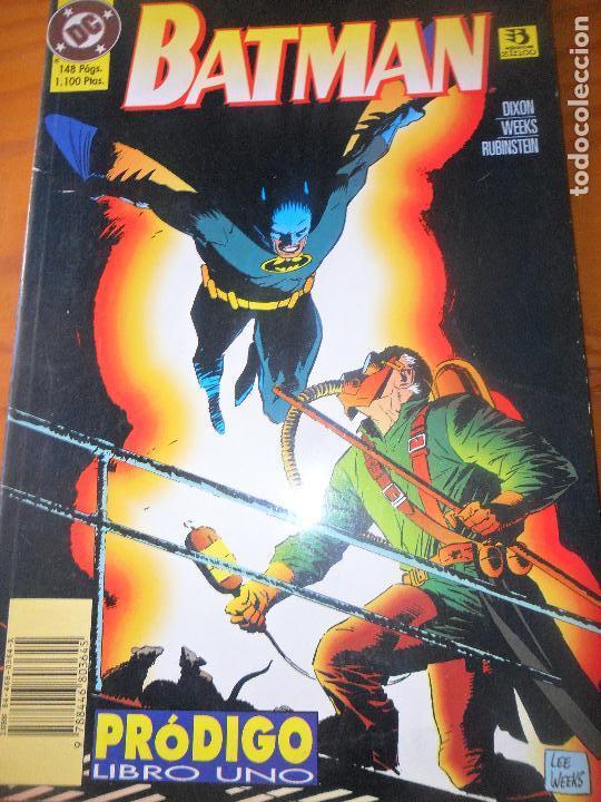 BATMAN. PRODIGO - LIBRO UNO 1 - ZINCO (Tebeos y Comics - Zinco - Batman)