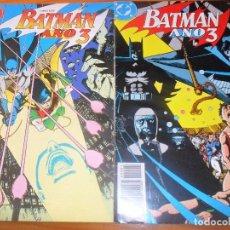 Cómics: BATMAN. AÑO 3 - SAGA COMPLETA - WOLFMAN/ BRODERICK - ZINCO. Lote 77248709