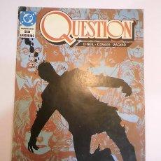 Comics: QUESTION - NUM 2 - EDICIONES ZINCO - 1988. Lote 77678738