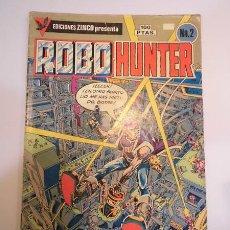 Comics: ROBO HUNTER NUM 2 - EDICIONES ZINCO - 1984. Lote 77678830