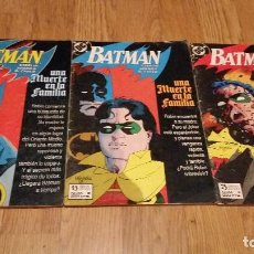 Cómics: BATMAN: UNA MUERTE EN LA FAMILIA. Lote 77931005