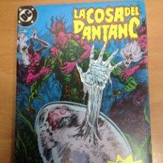 Cómics: COMIC RETAPADO Nº 5 LA COSA DEL PANTANO DE ALAN MOORE CONTIENE DEL 4 AL 8 NUNCA LEIDO. Lote 78108333