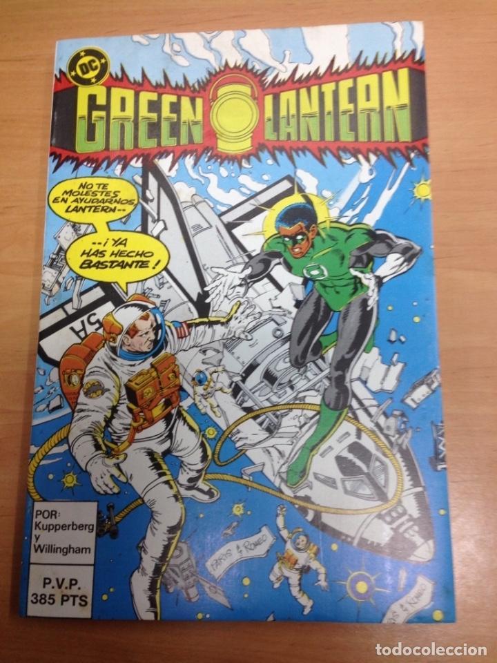 COMIC RETAPADO NUNCA LEIDO GREEN LANTERN CONTIENE DEL18 AL 22 (Tebeos y Comics - Zinco - Retapados)